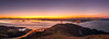 San Francisco Pano (Anish Patel Photo) Tags: yellow san francisco panorama cityscape golden gate bridge dawn