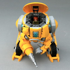 AEX-12J FORDY (Oscar Cederwall (o0ger)) Tags: armored warriors fordy siren sarah white powered gear