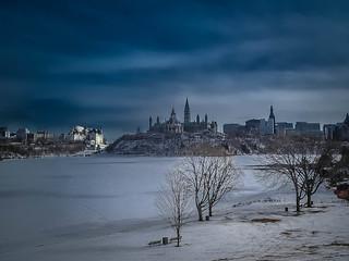 Ottawa Winter Sky