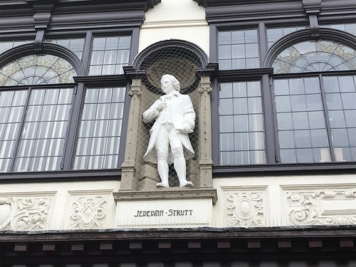 Jedediah Strutt statue
