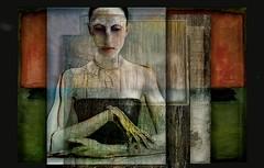 le temps perdu (skizo39) Tags: woman collage layers art digitalprocessing digitalart digitalpainting photomanipulation colors colorful graphical design creation artistic