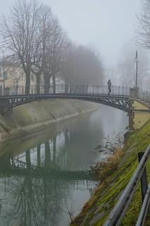 Badia Polesine (Rovigo), il Naviglio Adigetto