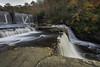 Upper DeSoto Falls (Longleaf.Photography) Tags: autumn fall desoto waterfall falls al ftpayne stream river scenic dam