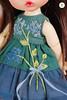 Handmade Embroidered Dress (Ylang Garden) Tags: latiyellow pukifee dress embroidered