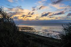 Kent Coastal (@bill_11) Tags: pegwellbay ramsgate kent uk sunrise clouds northsea baitdigging