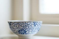 Winter still (eleni m) Tags: stilllife still winter bowl blue white window windowsill closeup indoor canon 50mm f14 pattern riverdale