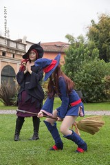 IMG_8743-1 (Mambrelli Marco Ph) Tags: littlewitchacademia streghe strega witch anime cosplay cosplayer palazzopfanner villapfanner luccaocmics lucca fantasy magia atsuko akko chariot ursulacallistis callistis shinychariot ursula croixmeridies croix atsukokagari