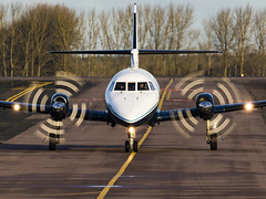 Cranfield University | British Aerospace BAe-3100 Jetstream 31 | G-NFLA (FlyingAnts) Tags: cranfield university british aerospace bae3100 jetstream 31 gnfla cranfielduniversity britishaerospacebae3100jetstream31 saxonair norwichairport norwich nwi egsh canon canon7d canon7dmkii
