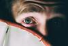 Eye (Miguel.Galvão) Tags: 5d canon full frame galvão miguel pedro lima experiments photographic high iso light bulb face alentejo évora portugal blue green carlos brito pires
