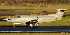 08-0718 USAF Pilatus U-28A,Glasgow Prestwick,15/12/17 (BS Images.) Tags: 080718 pilatus pc12 pc1247e us usaf u28a military airport aircraft aviation ayrshire egpk prestwick prestwickairport pik southayrshire scotland