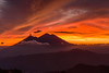 The red one (neritron) Tags: red orange color colorful colourful mountain volcan vulcan vulcano volcano volcanoe eruption landscape beautiful nikon nikkor 2470mm f28 sunset cloud
