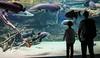 Dreaming about fishing (harald.bohn) Tags: fisk fish akvarium blå planet københavn copenhagen steinar snorre water vann