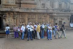 Sri Brihadeswara 4 (wfung99_2000) Tags: foreign tourists sri brahadeswara tanjore sribrahadeswara tamilnadu chola hindu unesco shiva dravidian architecture temple india brihadisvara