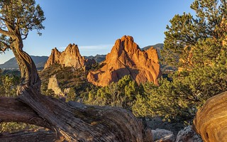 *Garden of the Gods @ sunrise*