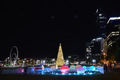 Perth by Christmas Light (Jess (on a plane)) Tags: perth wa westernaustralia australia christmas christmaslights friends m lightplay city urban