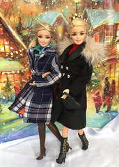 Holidays are here! (alenamorimo) Tags: barbie barbiedoll dolls holidays christmas