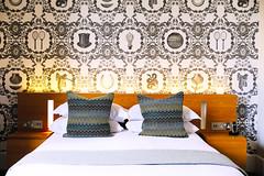 Superior Double Room (Malmaison Hotels & Brasseries) Tags: funky hotel leeds malmaison neon tourism travel