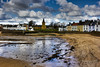 Anstruther 23 April 2016-0054.jpg (JamesPDeans.co.uk) Tags: landscape church northsea prints for sale weather religion unitedkingdom eastneuk man who has everything britain wwwjamespdeanscouk landscapeforwalls europe uk houses gb greatbritain lowtide sea bluesky sun reflection digital downloads licence scotland firthofforth beach tower house spire architecture anstruther steeple coast fife james p deans photography