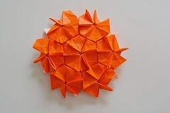 Optional Rhombic Flagstone Tessellation (Byriah Loper) Tags: origami tessellation paperfolding paper polygon diagrams byriahloper