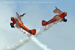 3445 Wingwalkers (photozone72) Tags: eastbourne airshows aircraft airshow aviation breitlingwingwalkers breitling wingwalkers boeing stearman biplane canon canon7dmk2 canon100400f4556lii 7dmk2