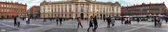 Place du Capitole - Toulouse (France) (Guy World Citizen) Tags: mairie place personnes capitole toulouse france street people cityhall ngc panorama tourisme