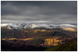 First dusting for Helvellyn