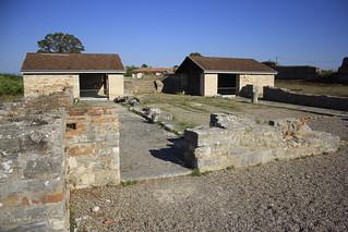 Ancient Nicopolis-Basilica of St. Dometio.