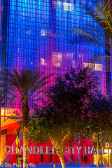 downtown Chandler, AZ. Chandler city hall (ric426) Tags: chandler az pentaxlife pentax architecture pentaxk70 lights colors smcpda50mmf18