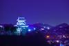 Castle tower (稲垣一志) Tags: aichipref hdr inuyamacastle inuyamacity japan naritasan nationaltreasure nightview nightscape 国宝 夜景 天守閣 愛知県 成田山 日本 犬山城 犬山市