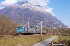 Z9621 sur TER Bourg St Maurice Chambéry vers St Jean de la Porte (philippedreyer1) Tags: