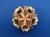 Elena var. (masha_losk) Tags: kusudama кусудама origamiwork origamiart foliage origami paper paperfolding modularorigami unitorigami модульноеоригами оригами бумага folded symmetry design handmade art
