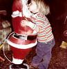 Grandma & Grandpa's House (1980) (Hobbycorner) Tags: grandparents grandma grandpa santa santaclaus christmas kissing kiss 1980 memories