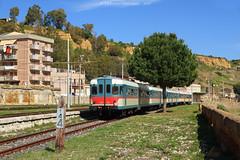 FS ALn668.1616 - Porto Empedocle (Federico Santagati) Tags: fs fondazione kaos ferrovie italiane italia on rails 668 1616 aln668 aln 1600 porto empedocle treno dei templi agrigento