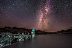Milky Way over Graig Goch (Nathan J Hammonds) Tags: milky way night sky wales uk elan valley nikon d750 irex 15mm f24 stars dam astro photography water tripod winter cold clear