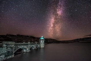Milky Way over Graig Goch