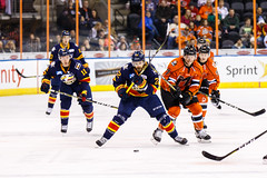 "Kansas City Mavericks vs. Colorado Eagles, December 16, 2017, Silverstein Eye Centers Arena, Independence, Missouri.  Photo: © John Howe / Howe Creative Photography, all rights reserved 2017. • <a style=""font-size:0.8em;"" href=""http://www.flickr.com/photos/134016632@N02/38428183104/"" target=""_blank"">View on Flickr</a>"
