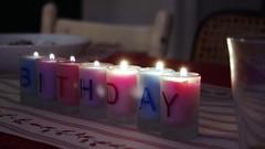 manque d'R (Phil du Valois) Tags: r bougie lumière anniversaire birthday