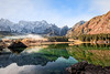 Mountains panorama with lake. (franco nadalin) Tags: alps italy tarvisio alpine autumn forest fusine green hiking lake landscape mangart morning mountain nature reflection tourism travel tree trekking vacation walking water on1pics laghi