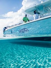 Exuma Cay Crew (Fifinator) Tags: over under split shot boat bahamas nassau exuma