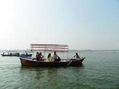 Allahabad, Triveni Sangam 22 (juggadery) Tags: 2015 india uttarpradesh people water religion hindu boattrip