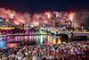 New year's eve @Melbourne (Qicong Lin(Kenta)) Tags: melbourne australia australian firework fireworks newyear newyearseve yarrariver cityscape city skyline building buildings festival event 2018 nikon night nightlight