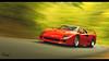 Ferrari F40 (at1503) Tags: usa vermont green autumn leaves trees fallenleaves speed motion turn red relfections light ferrari f40 grantuismo granturismosport digitalphotography ps4 digitalmotorsport motorsport forest nature