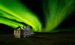 Abandoned Aurora (Dave Holder) Tags: iceland aurora northernlights abandoned photoshop composite