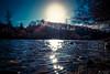 Sun River Sparkling (LeWelsch Photo) Tags: sun river sparkling wet stone sunrays sunbeams glow glowing trees forrest bokeh aare tiefenau thormannmätteli noplanetb planetb rx100m3 rx100iii lewelsch madeinbern