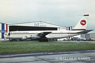 BOEING 707-321C PT-TCR ex S2-ACK BANGLADESH AIRLINES colours