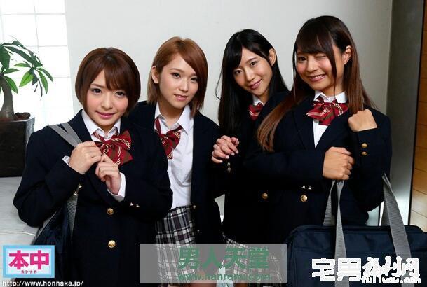 HNDS-055 片「本中」七周年為感謝網友,派美少女上門指導技巧