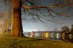 Park view in the night (Dumby) Tags: night bucharest românia sector3 ior titan parc lake noapte 60sec bucurești
