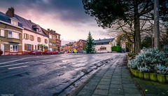 Morning- GFX50S FUJI (YᗩSᗰIᘉᗴ HᗴᘉS +11 000 000 thx❀) Tags: morning longexposure belgium belgique bel be belgrade aaa road town city street aube house gfx50s fuji