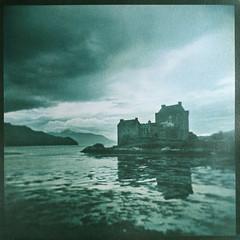 PRINT gum dichromate 014 (charlesguerin) Tags: darktable berggercot320 bergger cot320 gumdichromate gum eileandonancastle scotland landscape altprocess sea loch castle