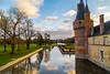 Aile Est (kromatographe) Tags: chateau reflet maintenon aqueduc eureetloir monument rivière